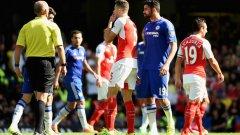 Диего Коща не успя да се разпише, но отново изкара червен картон за противников играч