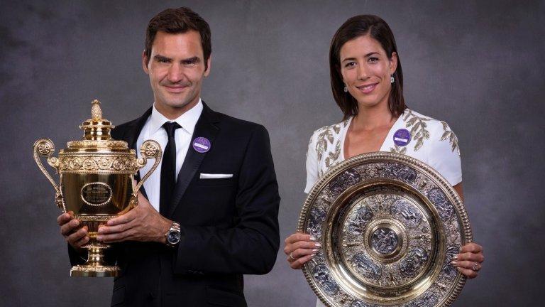 Чекът за победителите през 2018-а ще бъде с 300 000 паунда по-голям от тези, които получиха Федерер и Мугуруса миналата година