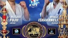 Виталий Ишахнели е добре познат на феновете на бойните спортове. Освен световен шампион по карате киокушин на KWU, през миналата година руснакът стана шампион на Русия от репубиканското на Световния киокушин съюз.