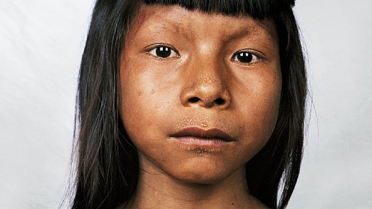 Ahkohxet, на 8 години, Амазония, Бразилия