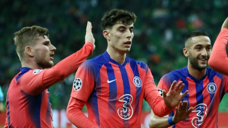 Челси се разигра в края, един от новите отбеляза дебютен гол