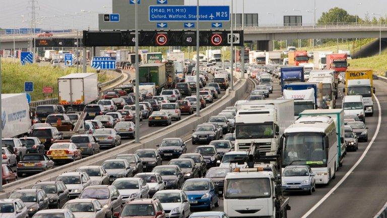 Лондон е един от градовете с най-големи задръствания и високи нива на замърсяване на въздуха