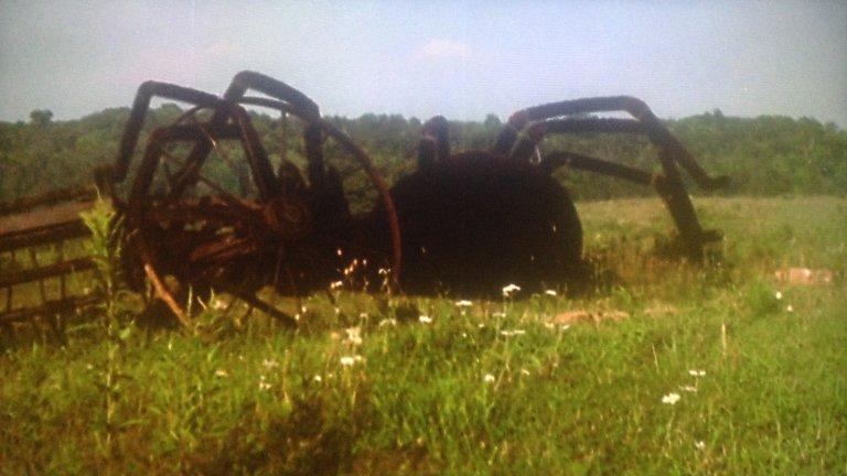 """""""The Giant Spider Invasion"""" Гигантските буболечки бяха нелепи още през 50-те години, но американските тълпи са обичали да ги гледат на автокино, докато дъвчат пуканки в колите си. През 1975 г. режисьорът Бил Рибейн решава да се опре на тази любов към големите паяци и прави """"The Giant Spider Invasion"""". Сюжетът би следвало да разказва как гигантски паяци тероризират град Мерил в Уисконсин, но всичко е толкова объркано, че във филма на практика няма история. И все пак, според Рибейн, това е един от най-пиратстваните филми на всички времена. Може и така да е, но никога няма да разберем защо."""