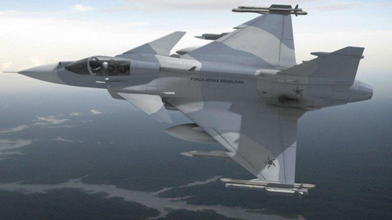 Saab в момента разработва следващото поколение на Gripen. Машината вече е продадена на шведските и бразилските ВВС. И макар външно изтребителят да изглежда слабо променен то електрониката е изцяло нова, а много от недостатъците, като малка далечина на полет и боен товар, са изчистени. Изтребителят е известен, като Gripen E/F и определено е едно конкурентно предложение на съвременния изтребителен пазар. Засега шведите не го предлагат активно в България, но ако процесът на избор се проточи още няколко години и това ще се случи.