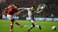 В сиви екипи Манчестър Юнайтед изнесе сиво представление срещу вдъхновения Бристъл и заслужено загуби