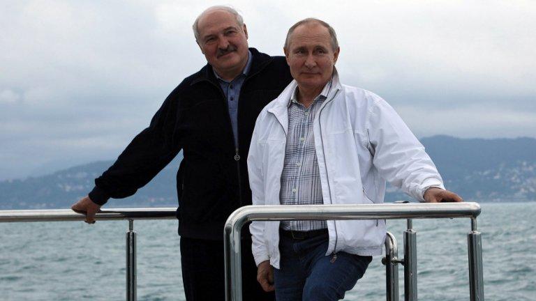 Путин и Лукашенко в Сочи