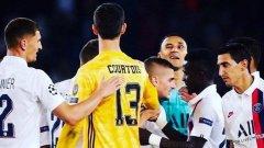 Кейлор Навас излезе като победител и когато двамата с Тибо Куртоа се изправиха един срещу друг при победата с 3:0 на ПСЖ в първия кръг от груповата фаза на Шампионската лига.