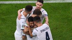 Италия видя сметката на белгийските звезди, очаква ни голямо дерби и на 1/2-финала
