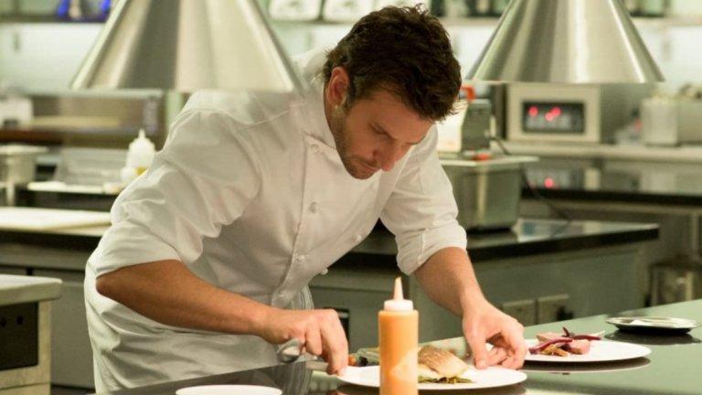 """""""Повелителят на кухнята""""Това със сигурност не е разтърсваща драма, която ще помните с дни наред, но е сред наистина добрите роли на Купър като готвач. Адам Джоунс е амбициозен, но е пропилял шансовете си като блестящ шеф-готвач заради злоупотребите си с алкохол и дрога. Сега той се завръща в Лондон и целта му е проста – да създаде най-невероятния ресторант в Европа, който задължително да получи три звезди """"Мишлен"""". Ще му помогнат сръчната му колежка Хелена (Сиена Милър) и старият му приятел Тони (Даниел Брюл).   """"Повелителят на кухнята"""" (Burnt) можете да откриете в Amazon Prime Video."""