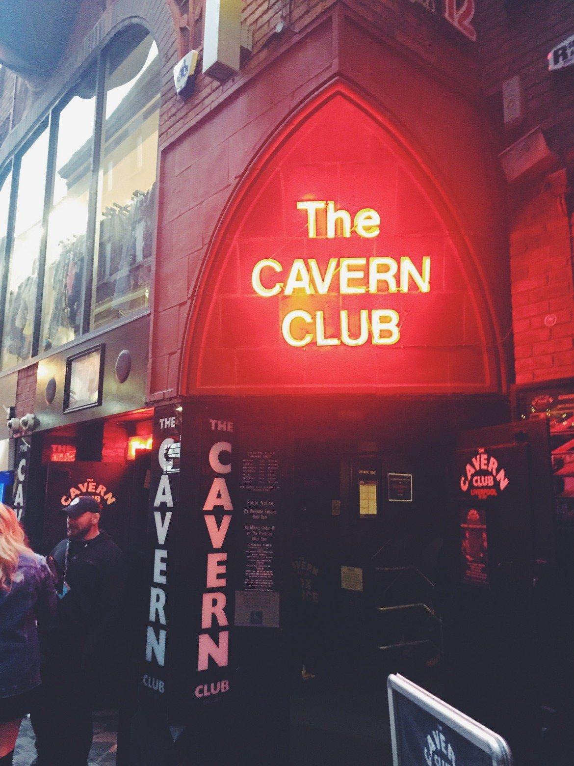 The Cavern Club - подземният бар, от който тръгнаха Beatles