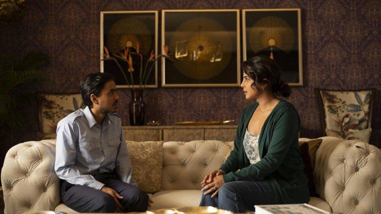 """The White Tiger Филмът е по едноименния роман на Аравинд Адига, станал бестселър на """"Ню Йорк Таймс. Режисьор на филма е  Рамин Бахрани, а в главните роли ще видим Приянка Чопра и Адарш Гурав. Историята разказва за беден селянин, който с хитрост и амбиция успява да пробие в съвременна Индия. Дата на премиерата: 22 януари"""