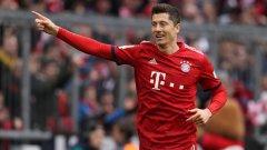 Когато говорим за класически централни нападатели, Левандовски е номер 1 в модерния футбол