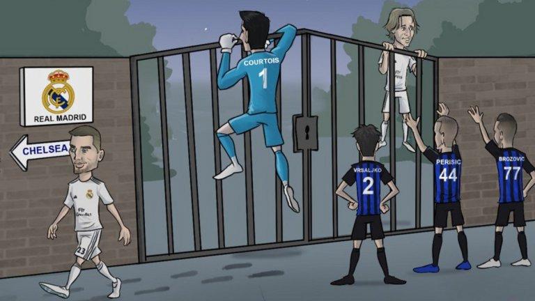 Трансферното лято на Реал Мадрид. Все още ситуацията около Лука Модрич не е ясна.