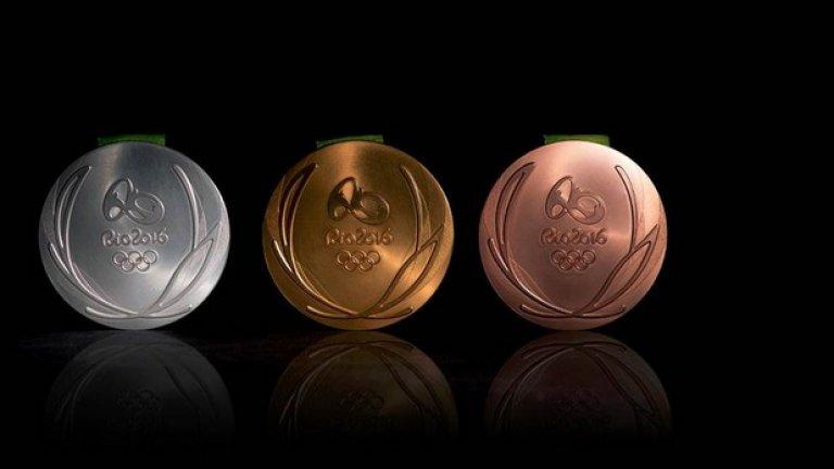 В Рио ще бъдат раздадени цели 2102 медала