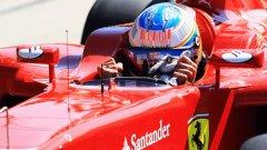 Фернандо Алонсо донесе първата поулпозишън на Ferrari от 2008 г. насам