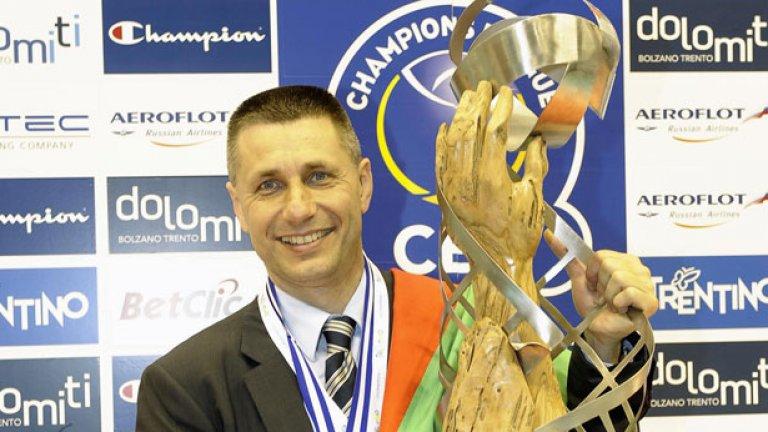 Радостин Стойчев и Трентино спечелиха за трети пореден път волейболната Шампионска лига