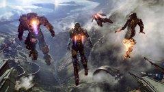 Следващият голям проект на BioWare се нарича Anthem  След цяло десетилетие, подчинено най-вече на Dragon Age и Mass Effect, канадското студио Bioware най-сетне работи по напълно нова и оригинална игра. Тя се нарича Anthem и засега не знаем много за нея - видяхме пълна с опасности планета, където кръвожадни чудовища се редуват с красиви пейзажи. Изглежда, че голяма част от геймплея ще се върти около костюма на главния герой, който му дава различни специални умения както в битка, така и при придвижване. Сценарият се пише от Дрю Карпишин, който преди това направи историята в Star Wars: Knights of the Old Republic и първите две Mass Effect игри. Представянето на играта бе големия финал на конференцията на Microsoft, но Anthem най-вероятно ще излезе не само за Xbox One, но и за PS4 и РС.