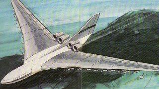 Чудните военни машини: CL-1201 - летящият самолетоносач на ядрено гориво