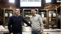 Гари Невил и Райън Гигс създадоха оазис за футболните фенове в своя хотел.