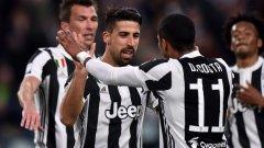 Ювентус не пропусна да вземе трите точки и да дръпне с още две пред Наполи