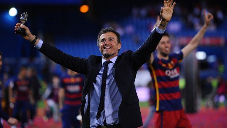 5. Започва нова ера в Барселона  За Барселона предстоят тежки решения на най-високо ниво. Ще бъде избран нов треньор след напускането на Луис Енрике, а съставът се нуждае от сериозно обновяване. Видно е, че в тима има играчи, които не притежават необходимата класа, а футболисти като Машчерано и Иниеста са залязващи легенди. Дори да е трудно да го приемем, пикът в кариерата на Лео Меси вече отмина и блясъкът му малко по малко ще угасва.   А откриването на заместници е дяволски трудна задача. Откакто постигна требъл през 2015 г., Барселона пръсна над 170 млн. евро за трансфери на играчи, които не успяха да се наложат или да се докажат поне като адекватни резерви (единственото изключение е Юмтити). Сега каталунците имат нужда от треньор, който няма да се мъчи да изстисква още от отдавна доказалите се основни футболисти, а ще има смелостта да гради за бъдещето. Всяка ера има своя край, Барса просто трябва да отгърне нова страница.