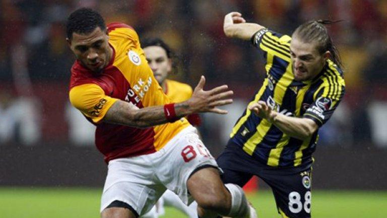Галатасарай победи Фенербахче с 3:1 в последния мач между двата гранда