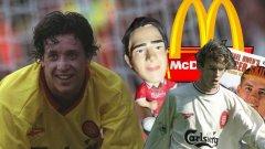 """McDonald`s на """"Коп"""" Ливърпул е единственият клуб в света, на чийто стадион имаше заведение от известната верига. Той отваря през 1995-а година, а преди мачовете се вият опашки от родители с деца. Това се превръща във важен ритуал преди домакинствата за хлапетата."""