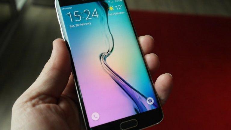 Дизайнът на двата смартфона е поразителен - метал и стъкло, нещо невиждано досега в телефоните на Samsung