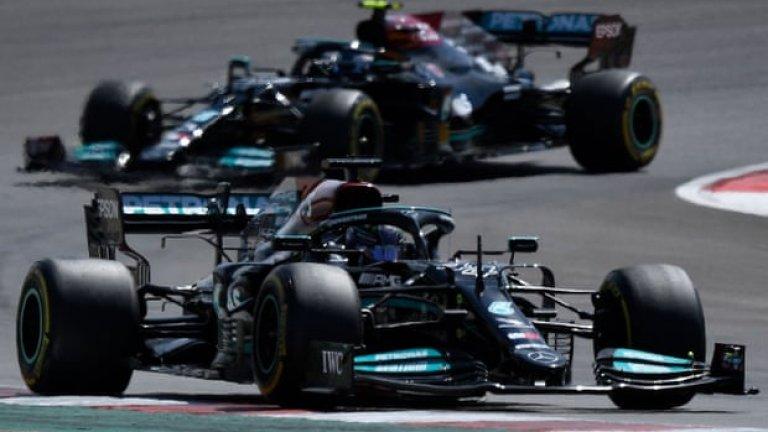 Безупречен Хамилтън спечели Гран при на Португалия