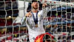 2014 г. Реал - Атлетико 4:1 с продължения. Серхио Рамос реже ритуално мрежата на вратата за сувенир, но ако не бе неговият гол 14 секунди преди края на добавеното време, купата отиваше в Атлетико.