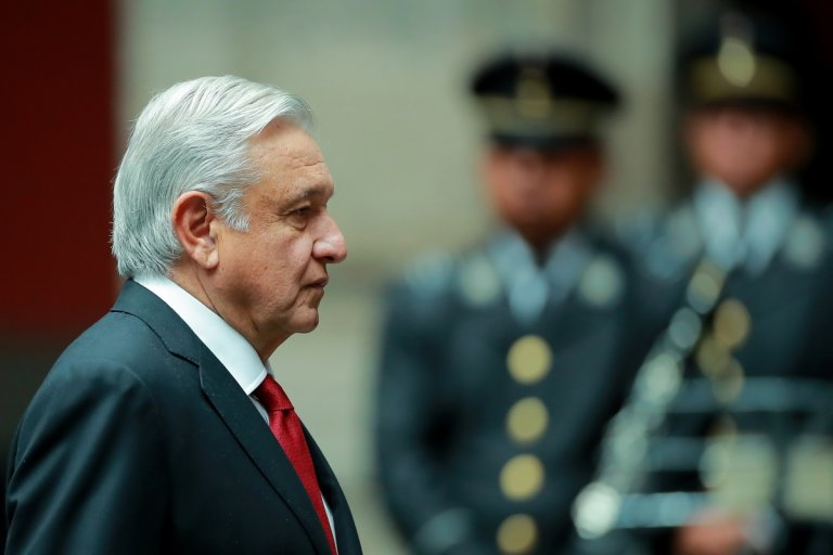 Мексиканкият президент Андрес Мануел Лопес Обрадор.