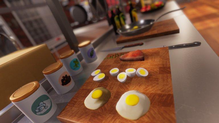 Cooking Simulator  Заглавието казва почти всичко – в тази игра ще влезете в ролята на готвач. Cooking Simulator обаче ще ви предложи един доста авторитетен и сериозен поглед към готварството, затова не бива да го подценявате като едно алтернативно и малко по-лежерно забавление. На ваше разположение е внушителният брой от 80 рецепти и над 140 съставки, които да режете, кълцате, смесвате и забърквате до получаване на желания резултат.   Имате и няколко режима на игра в зависимост от това дали искате да напредвате в кариерата, да играете за време или просто да експериментирате и да приготвяте ястия. Допълнителен плюс е, че с Cooking Simulator действително можете да подобрите уменията си в кухнята и да научите нови техники и рецепти, нови комбинации между продуктите и по-добри рефлекси в кулинарията.