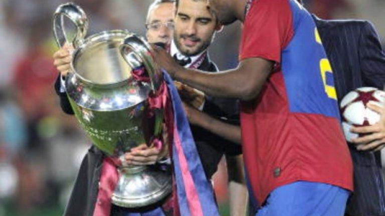 Яя Туре Туре е бил в подобна ситуация на тази, в която е сега. Той прекара два сезона под ръковдството на Пеп в Барселона. Помогна на тима за успехите както на вътрешна сцена, така и в Европа, но през 2010-а бе поставен в трансферния списък и се присъедини към Манчестър Сити, където се събра отново със стария си треньор.