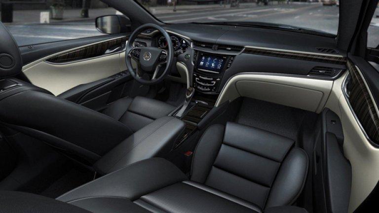 Интериорът на XTS съперничи на този на Mercedes и Audi