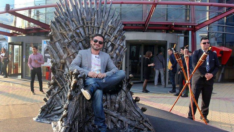 Звезди от българското кино и театър, политици и журналисти минаха по червения килим и се снимаха с трона от най-харесваната продукция на HBO на всички времена