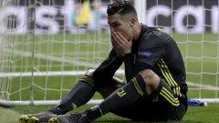 За Роналдо вечерта протече зле и той показа невъздържаност още на терена, а после и в микс зоната. Със сигурност отпадане на осминафинал в любимия му турнир няма как да отговаря на неговите амбиции