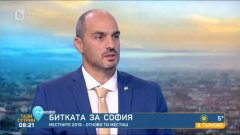 """Кандидатът на """"Демократична България"""" заяви, че ще призоват хората на втори тур да гласуват по съвест"""