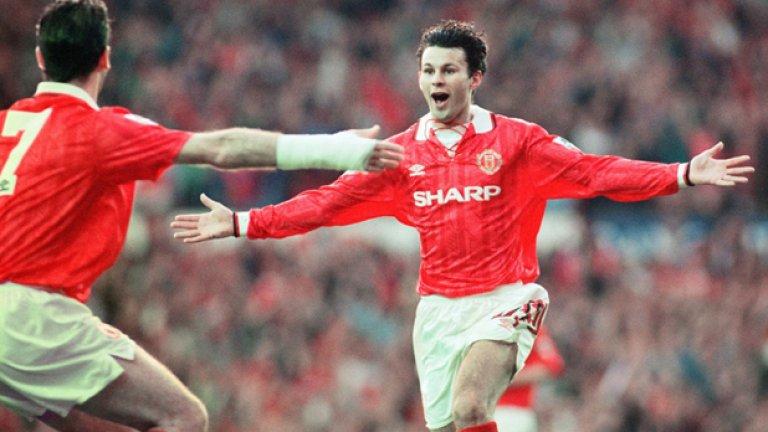Райън Гигс Уелският гений беше направил своя пробив през предишния сезон, а в шампионския сезон тийнейджърът блестеше. Често мачовете се превръщаха в негов рецитал. Отбеляза 9 гола, а кампанията приключи с втората му поредна награда за млад играч №1 на първенството. Останалото е история - над 900 мача, 13 титли, два трофея от Шампионската лига и др. Беше помощник на Дейвид Мойс и Ван Гаал. Напусна миналото лято след идването на Жозе Моуриньо.