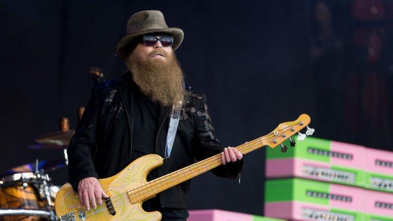 Почина Дъсти Хил, басистът на легендарните ZZ Top