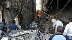 Ислямска държава пое отговорност за троен атентат в Дамаск, при който загинаха 59 души
