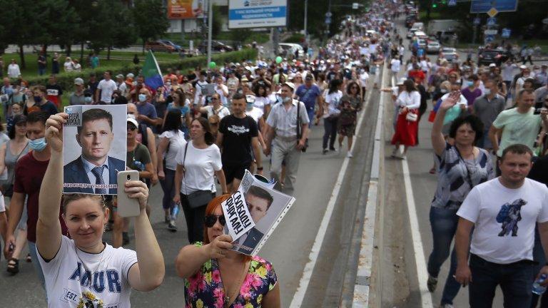 Сергей Фургал: Арестът, който клати престола на Путин от Далечния изток