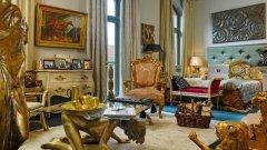 Цялата естетика на подредбата в тази стая е такава, че ако Доналд Тръмп отседне тук по време на престоя си в Хамбург за срещата на Г-20, да се почувства като у дома си (ГАЛЕРИЯ)