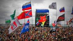 Военната пропаганда на Русия опря и до музикалните фестивали