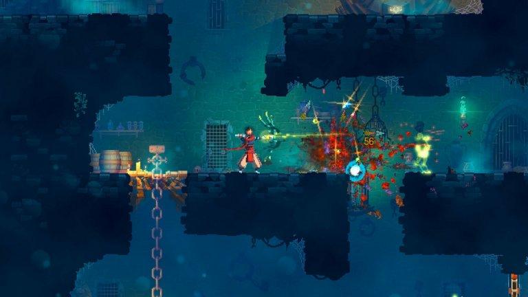 Dead Cells (Motion Twin)  Вечерта се оказа звездна за Dead Cells, която триумфира като най-добра екшън игра. Dead Cells е екшън платформър, в който смъртта е окончателна, а огромният замък, който изследвате, непрекъснато се променя. Въпреки това, играта запазва част от прогреса ви и затова едно изиграване, което може да отнеме от няколко минути до няколко часа, никога не е напразно. Картата непрекъснато ви дава нови зони, които да изследвате, а бойната система е изключително методична и напомня Dark Souls в своята прецизност. Dead Cells бе един от хитовете на това лято и е радостно, че това майсторски изпипано заглавие получава признанието, което заслужава.