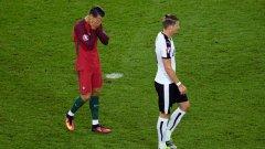 Роналдо можеше да речи мача, но не му провървя.