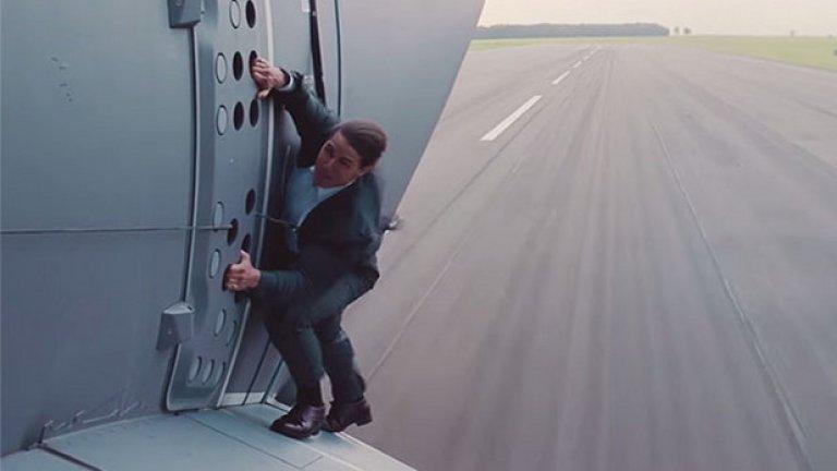 """7.Ролите на Том Круз са донесли близо $3,6 млрд. бокс офис приходи. Най-печелившото му заглавие не е някое от поредицата """"Мисията невъзможна"""", а """"Война на световете"""" на Стивън Спилбърг."""