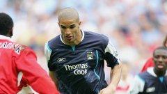Вратарят Дейвид Джеймс като полеви играч срещу Мидълзбро.