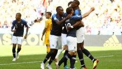 Франция е първият финалист на Мондиал 2018.