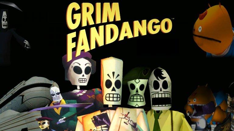 """Grim Fandango  Игра от 1998 година? Да, напълно си заслужава, ако е тази! В """"Grim Fandango"""" нещата стават няколко идеи по-мрачни и вие влизате в образа на Мани Калавера, който помага на хората да преминат пътя към отвъдното. Сюжетът разчита до голяма степен на митологията на ацтеките, което го прави особено увлекателен и колоритен.   Нещата стават заплетени, след като Мани решава да спаси жена на име Мерседес и така се впуска в поредица от препятствия. Той трябва да събира вещи, които може да му се окажат необходими, да се справя с различни загадки и задачи и така да се придвижва напред в действието. Освен това тук героят има възможността да общува с второстепенните персонажи, които често предоставят доста ценни подсказки в решаването на пъзелите."""