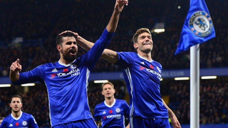 """Челси разби Евертън с 5:0 по-рано през сезона. Могат ли """"сините"""" отново да триумфират и да направят сериозна крачка към титлата на """"Гудисън""""? Вижте в галерията..."""